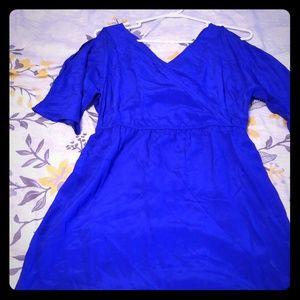 Boutique surplice dress.